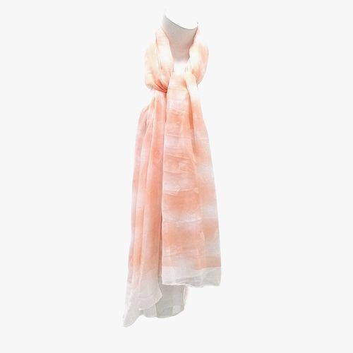 Bufanda color anaranjado para dama