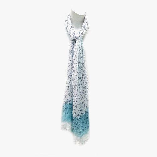Bufanda color azul para dama