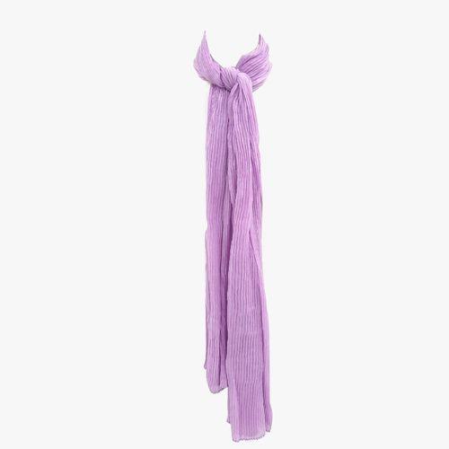 Bufanda color morado para dama
