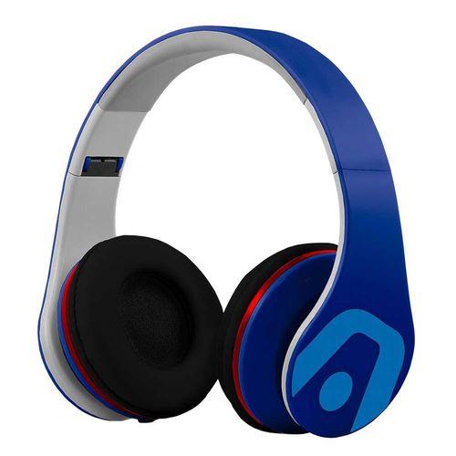 Audífono dj pro azul