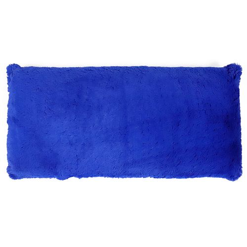 Cojín body pillow  plush azul royal