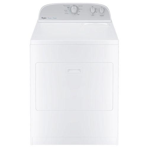 Secadora de 18 kg eléctrica blanca