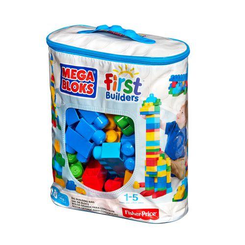 Bolsa de bloques para niño