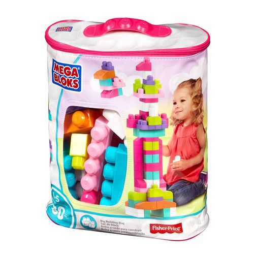 Bolsa de bloques para niña
