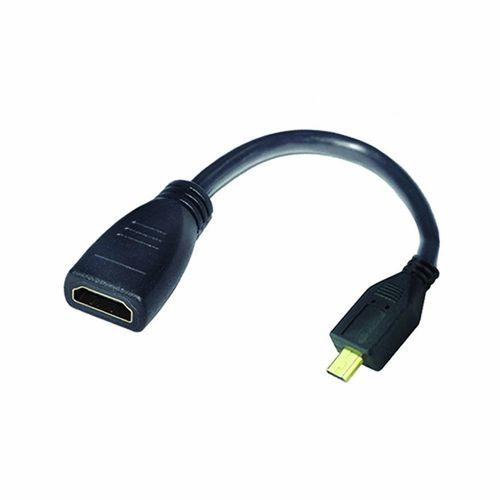 Cable adaptador micro HDMI a HDMI