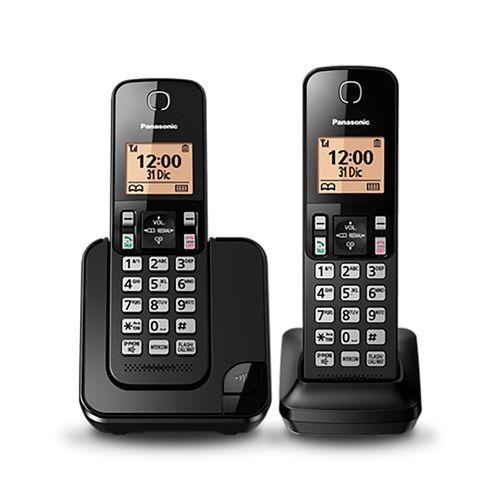 Teléfono inalámbrico 2 auriculares