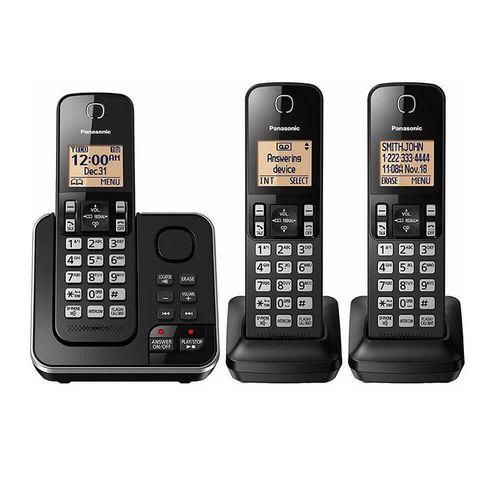 Teléfono inalámbrico de 3 módulos