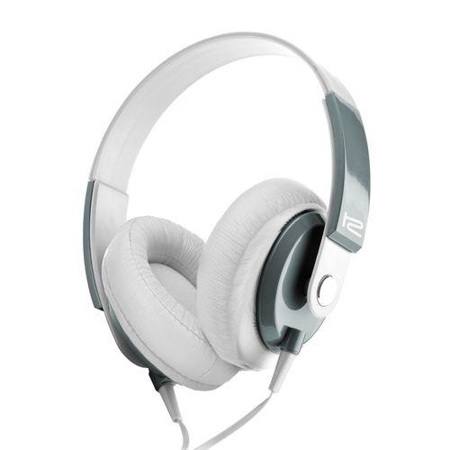 Audífono klip xtreme con micrófono blanco