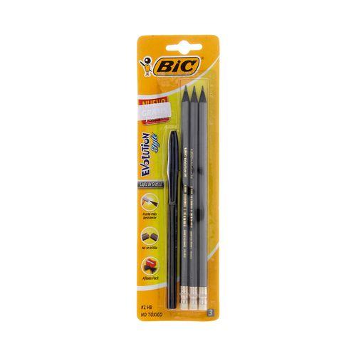 Blíster de 3 lápices