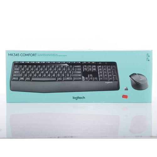 Teclado y mouse inalámbricos logitech mk345