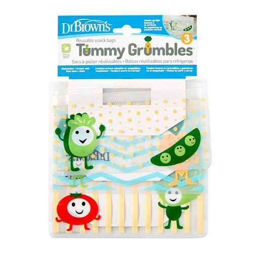 Bolsas para snack tummy grumbles