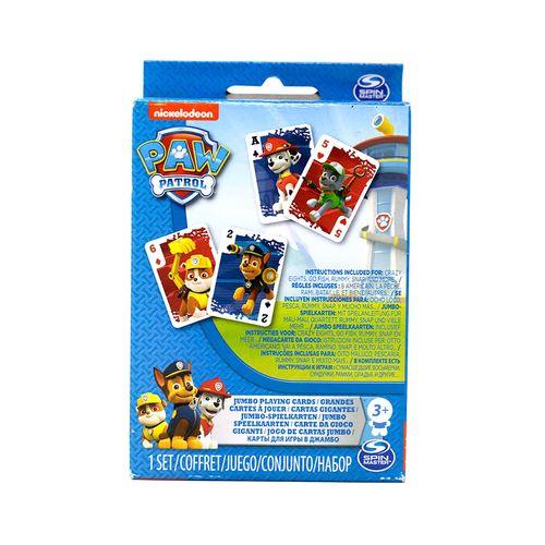Paw patrol cartas de juego