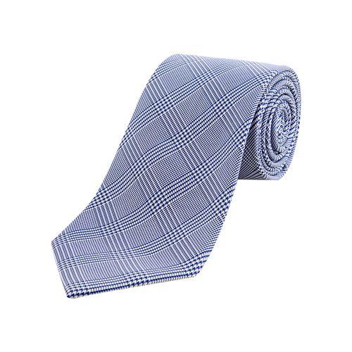 Corbata cuadros blue