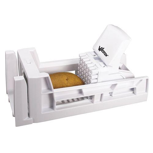 Cortador de plástico para papas fritas