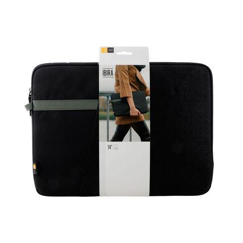 Funda color negro para laptop 14