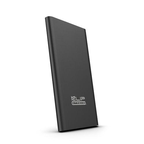 Batería portátil 3,700 mah 2.1 a negro metálico