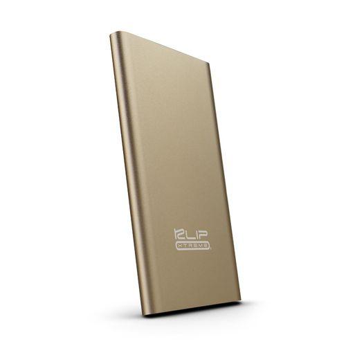 Batería portátil 3,700 mah 2.1 a oro metálico
