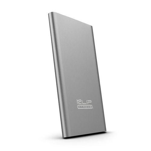 Batería portátil 3,700 mah 2.1 a gris metálico