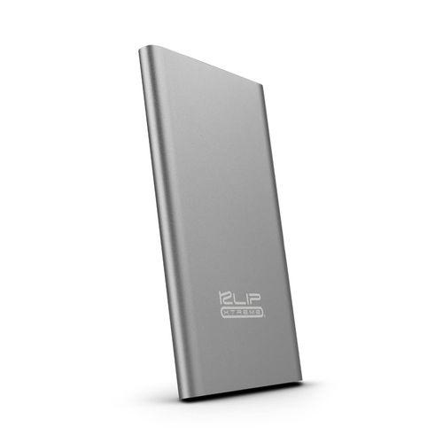 Batería portátil 5,000 mah 2.1 gris metálico