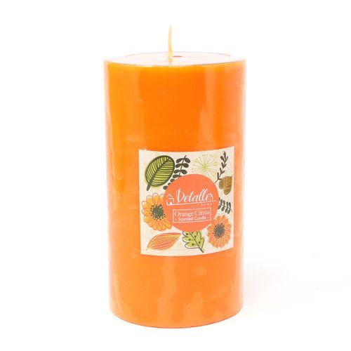 Vela 2.75x5 naranja