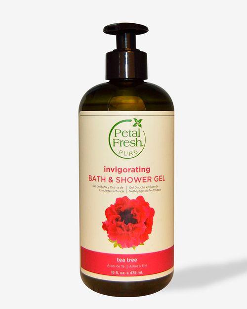 Pure Invigorating Bath & Shower Gel Tea Tree 475ml