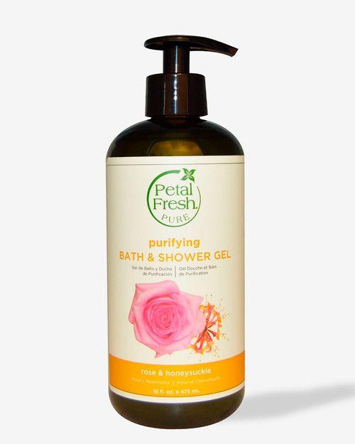 Purifying Bath & Shower Gel - Rose & Honeysuckle 475ml