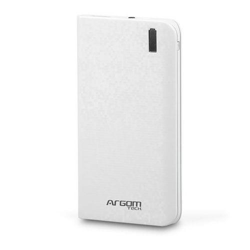 Batería portátil blanco 6,000 mah
