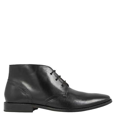 Bota de cuero formal Florsheim color negro