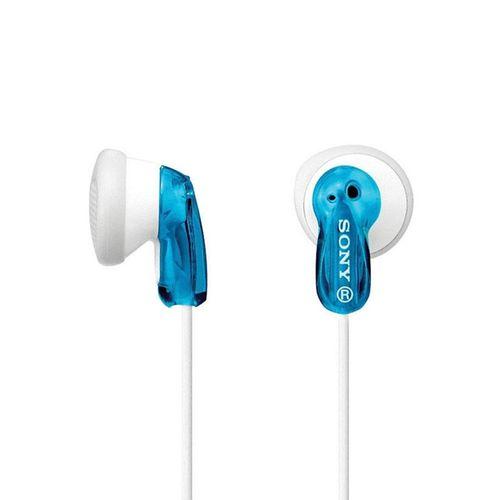 Audífono alambricos azul