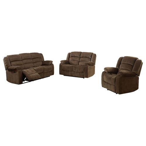 Sala 3-2-1 reclinable chocolate Bill