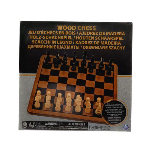 Set ajedrez de madera