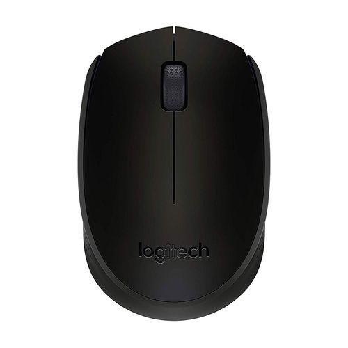 Mouse inalámbrio negro