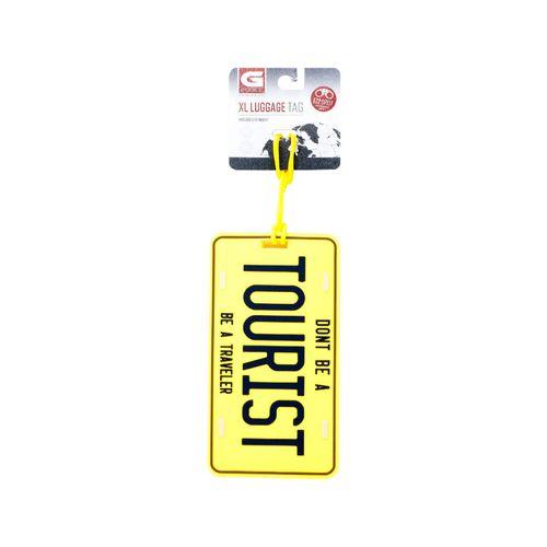 Identificador de maletas amarillo
