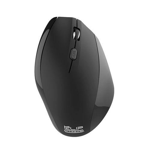 Mouse ergonómico inalámbrico negro