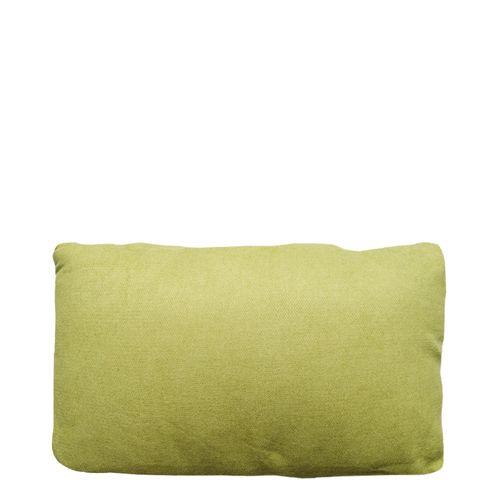 Cojín 30x50cm verde olivo solido