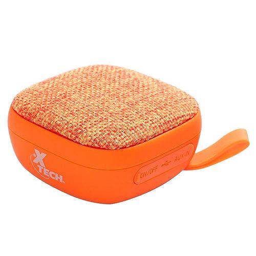 Mini bocina  bluetooth  naranja