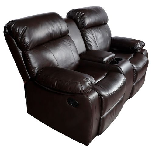 Love Seat Reclinable con Consola