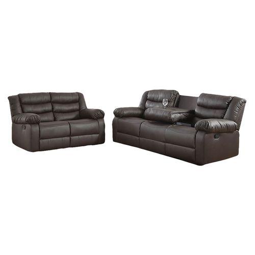 Sala 3-2 reclinable negro