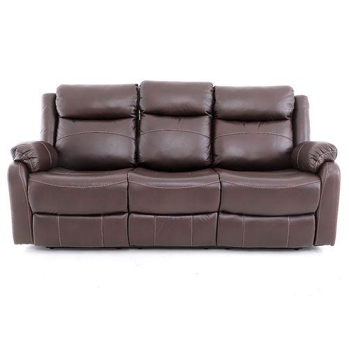 Sofá reclinable gris