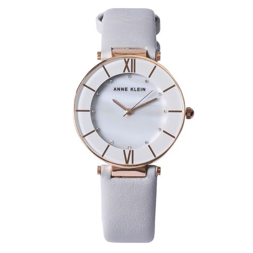 Reloj análogo gris