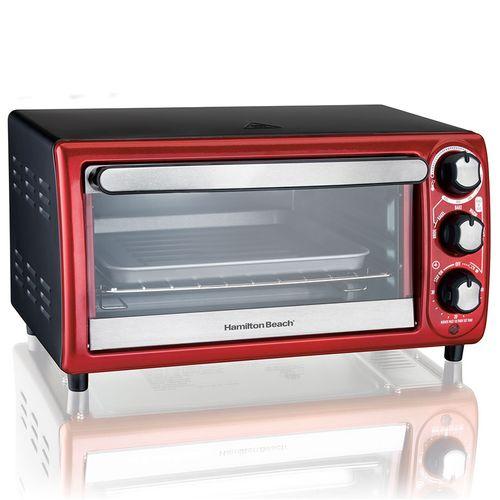Horno tostador rojo