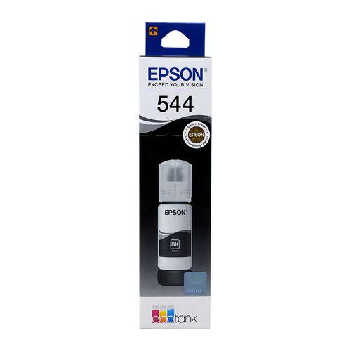 Botella tinta epson t544 negro 65ml