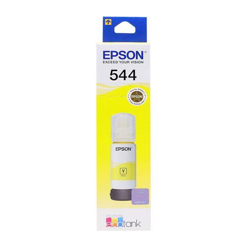 Botella tinta epson t544 amarillo 65ml