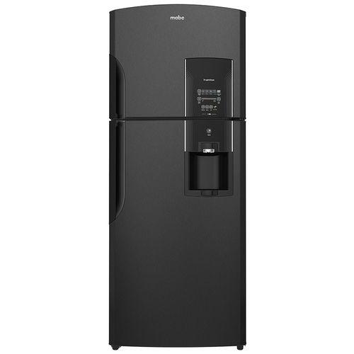"Refrigerador automático 19"" Black Stainless Steel"