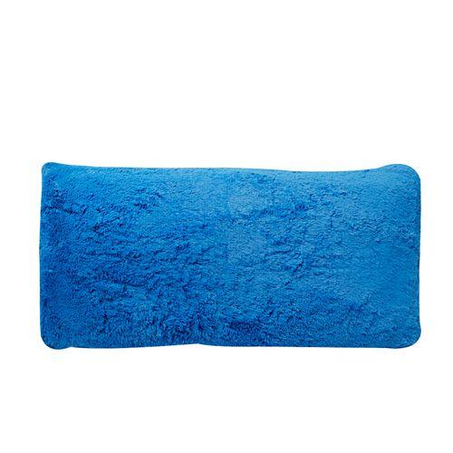 Cojín body pillow plush azul electrico