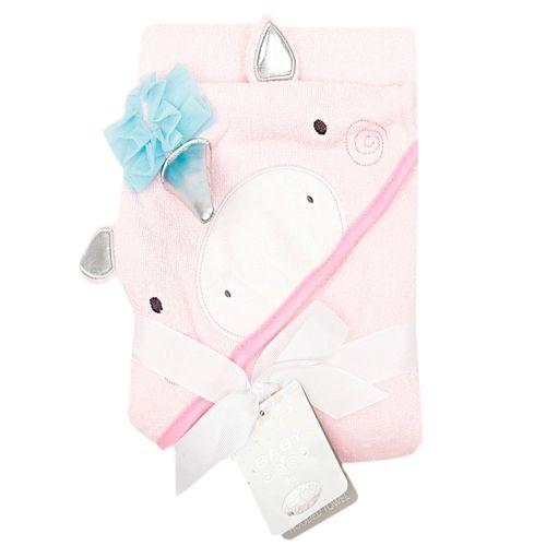 Toalla con capucha para bebé