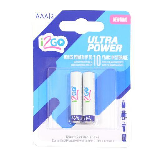 Baterías AAA 2 pack