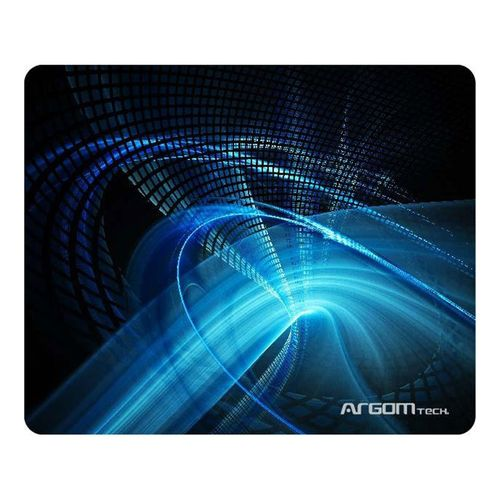 Mouse pad gaming galaxia azul