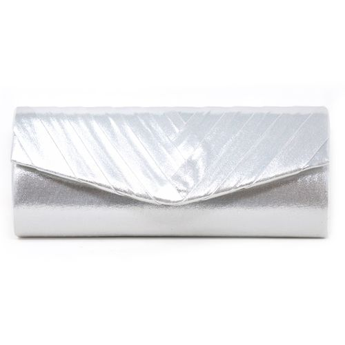 Cartera plata clutch