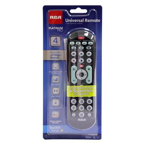 Control remoto universal 4 dispositivos
